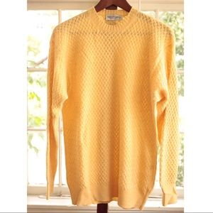 VINTAGE Yellow Sweater (made in Italy)